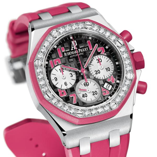 Replica watches for women audemars piguet royal oak offshore tour auto 2012 made from steel for Audemars piguet kinetic