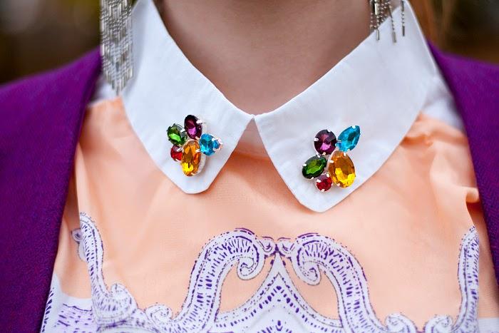 zlz, jewel floral print blouse, lucie srbová, hashtag