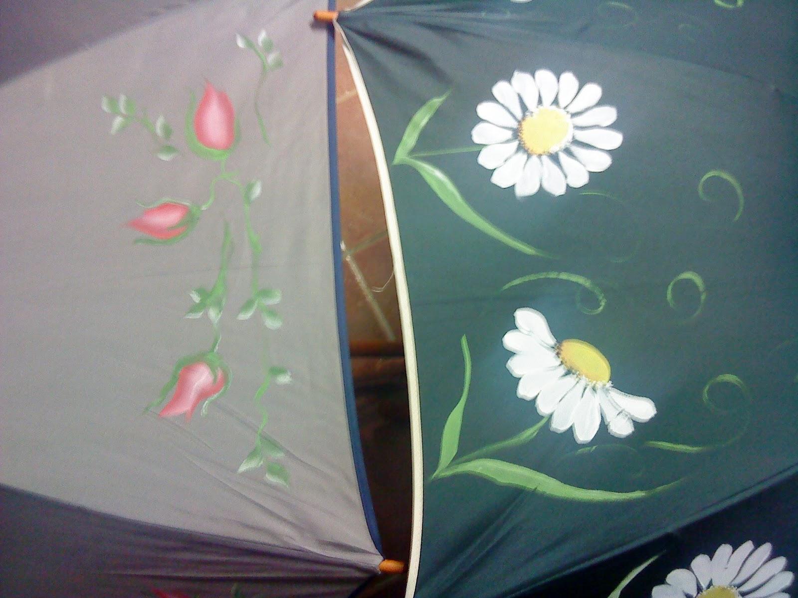 Artesania abona paraguas pintados a mano - Baules pintados a mano ...