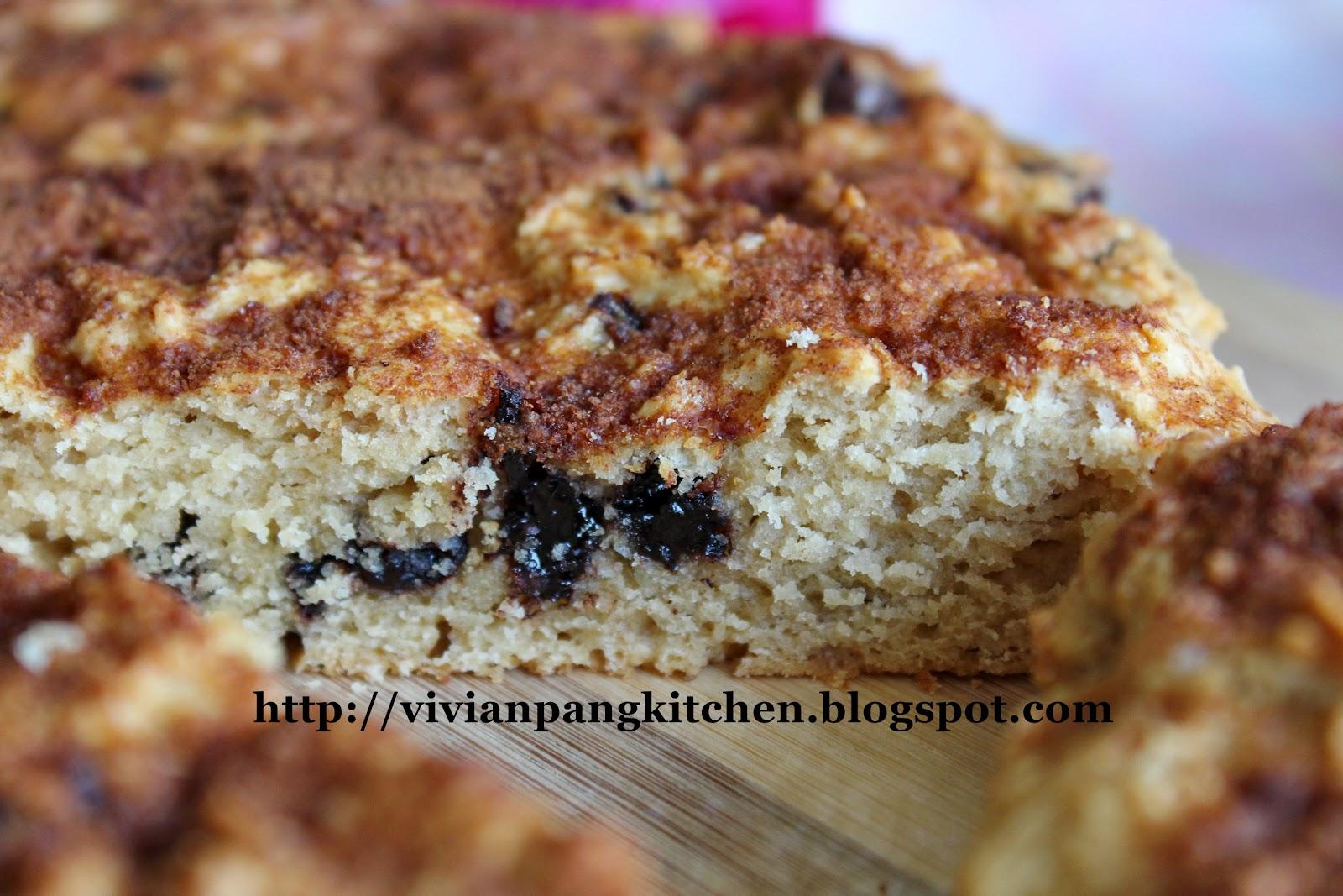 Vivian Pang Kitchen: Mocha Scone with Cinnamon Sugar