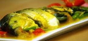 Ikan Bandeng Presto Masak Bumbu Acar Kuah Kuning