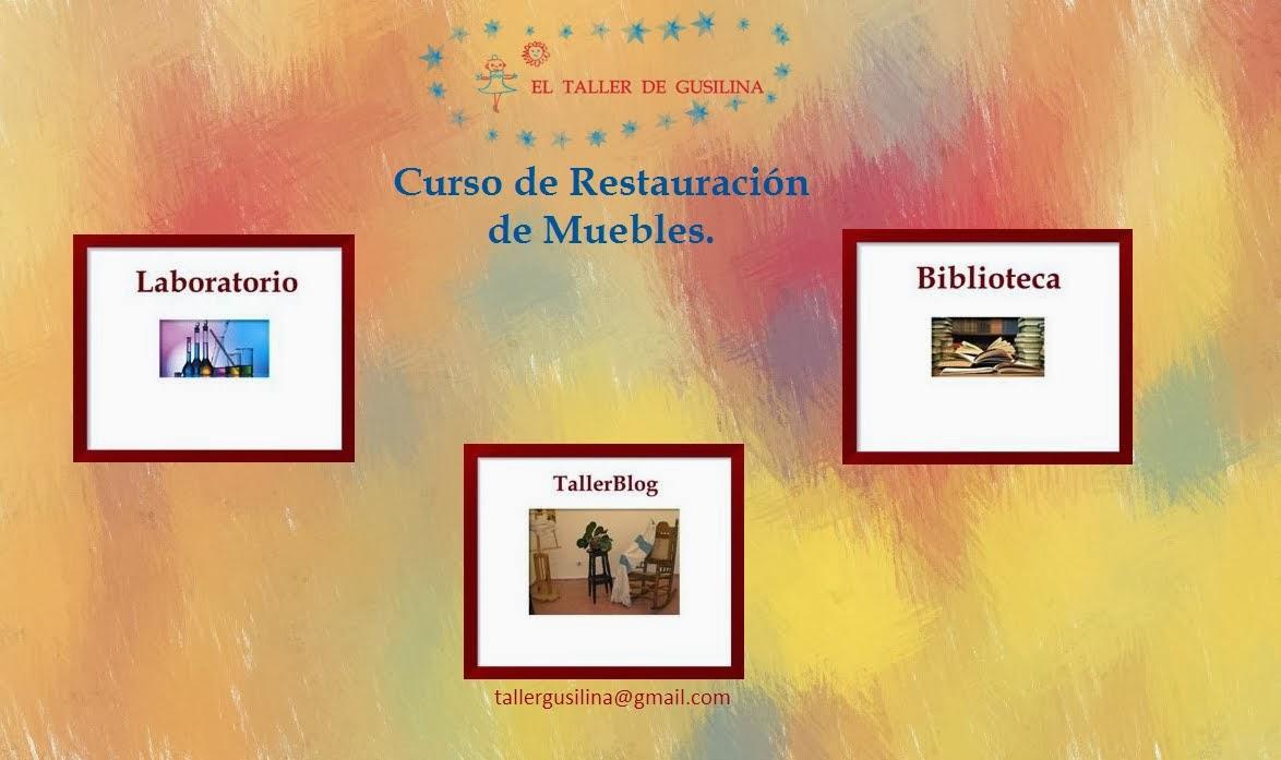 Tallerblog de restauraci n de muebles antiguos curso de for Clases de restauracion de muebles