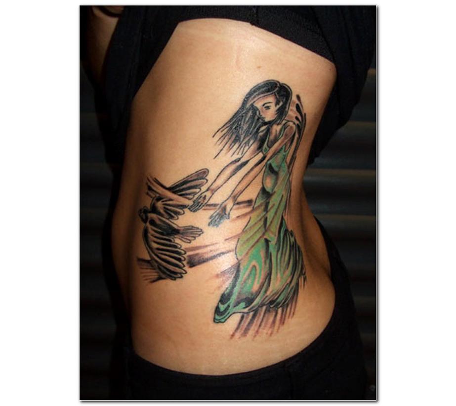 Women Bird Tattoos