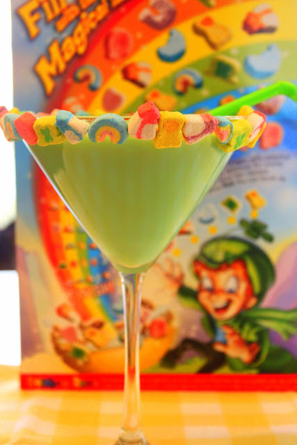 Magically Delicious Martini: A Cocktail for St. Patty's Day