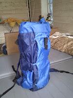 легкий бескаркасный туристический рюкзак своими руками