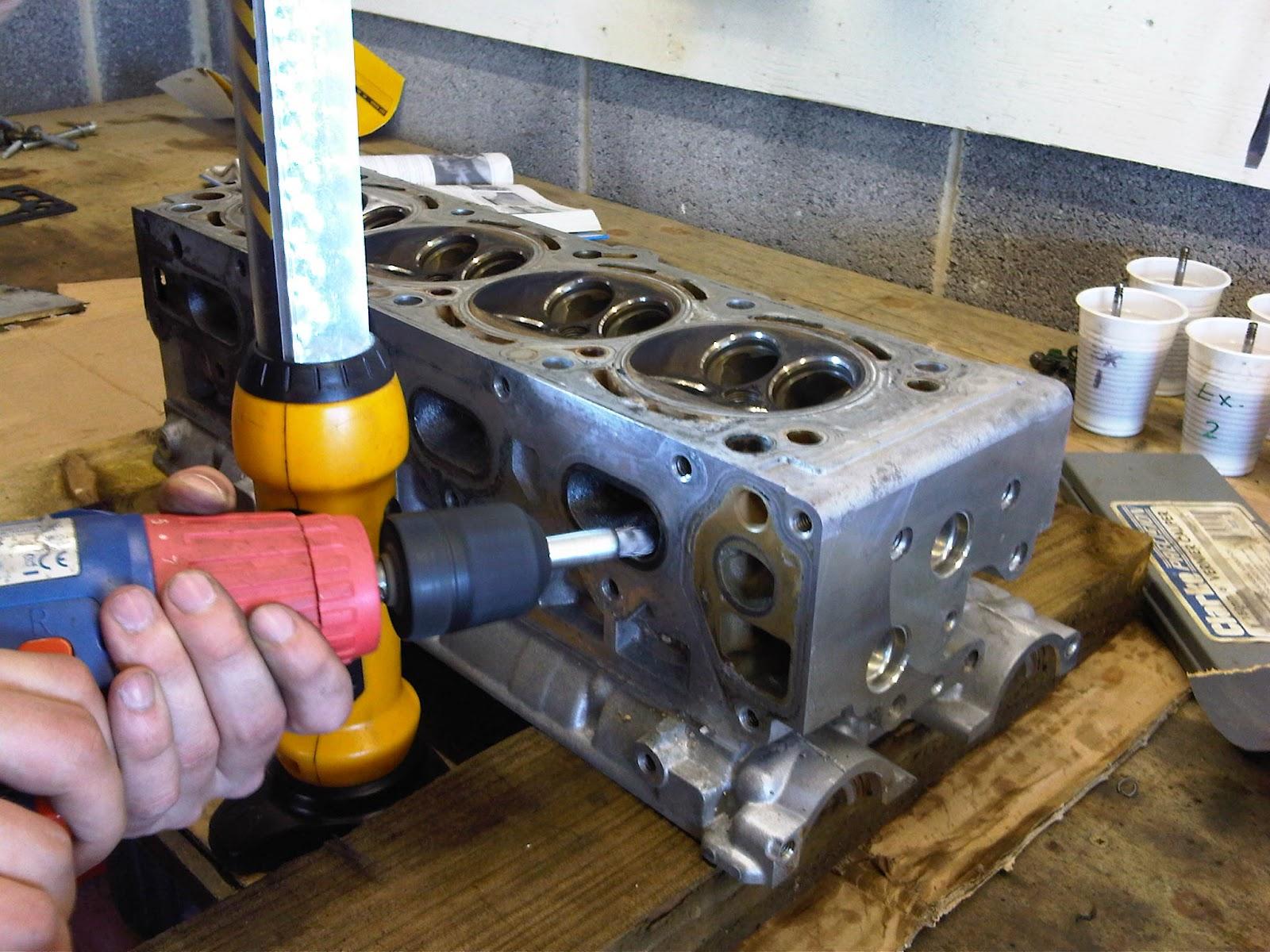 WattsWorks: Shell's Z20LET Cylinder Head Rebuild
