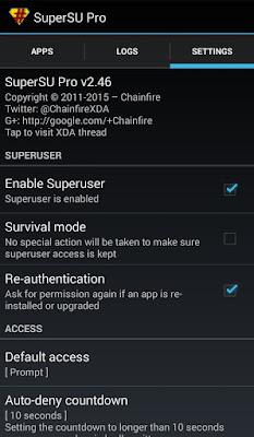 SuperSU Pro Xiaomi Redmi