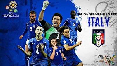 Euro 2012 Wallpaper - ITALY SQUAD - Buffon - Bollatel - Pirlo - Ignazio Abate - Angelo Ogbonna - Thiago Motta Wallpapers