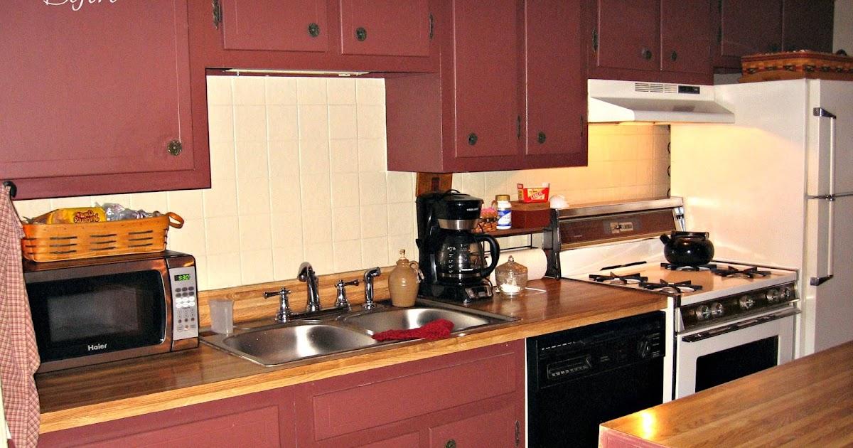 Homespun Happenings Final Kitchen Reveal