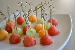 Melon, Presentacion y Decoracion
