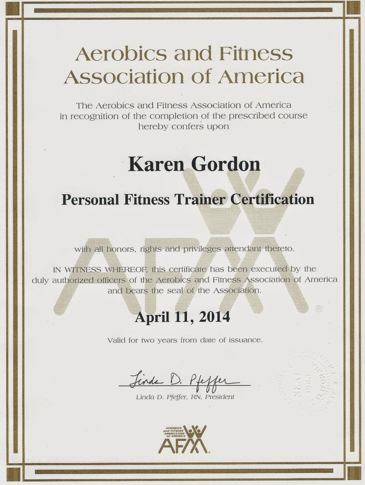Body Odyssey Fitness Certifications