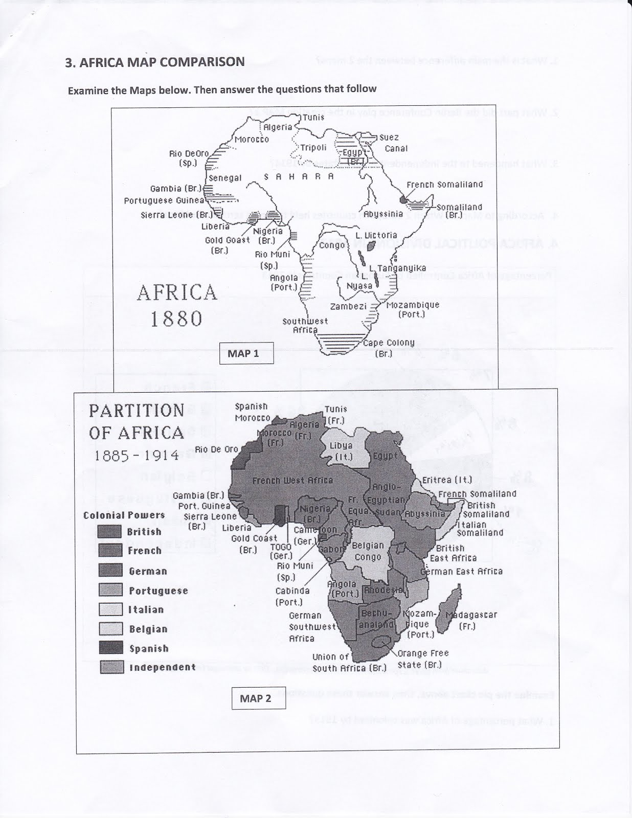 scramble for africa questions
