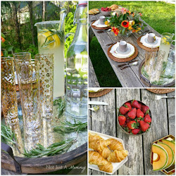 A simple tablescape for spring and summer entertaining