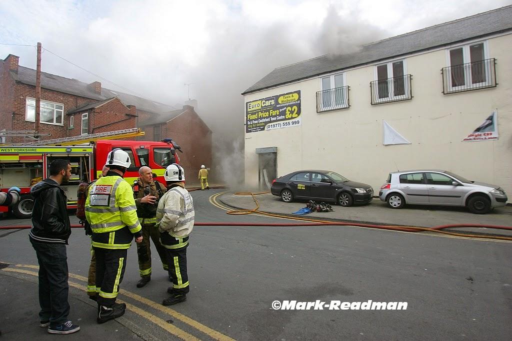 Castleford blaze