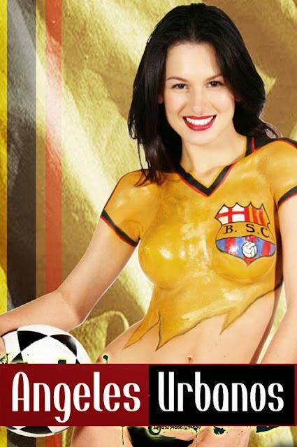 Bodypainting Soccer