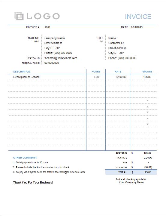 standard packing slip template .