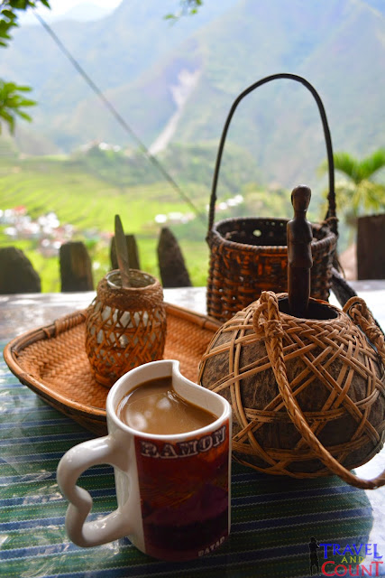 Local Coffee of Batad in Banaue, Philippines