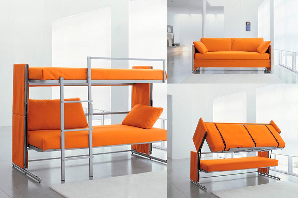 Espectaculares muebles para ahorrar espacio en tu vivienda made in tingo mar a - Muebles ahorra espacio ...