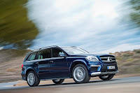 2012 all new Mercedes GL350 luxury suv offroad source media image