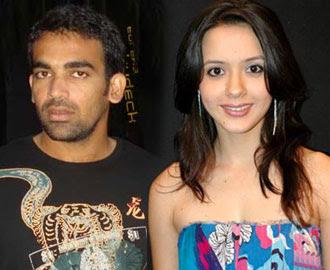 Zaheer Khan&Isha Sharwani