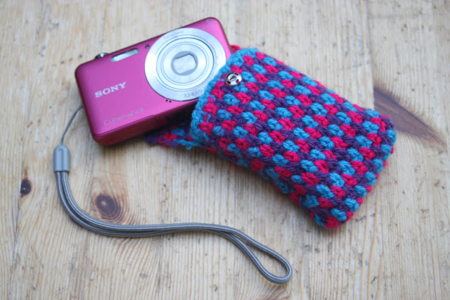 Crocheted Camera Case