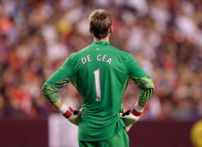 David De Gea Man Utd Goalkeeper 2011/2012