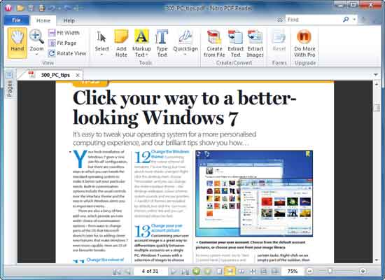 extraer imágenes y texto desde un archivo PDF