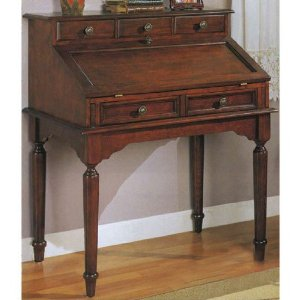 Computer Desk: Antique Secretary Desk