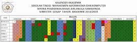 KALENDER AKADEMIK STMIK SPB SEMESTER GENAP TA. 2013/2014
