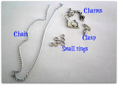 Charms Bracelet - Easy DIY