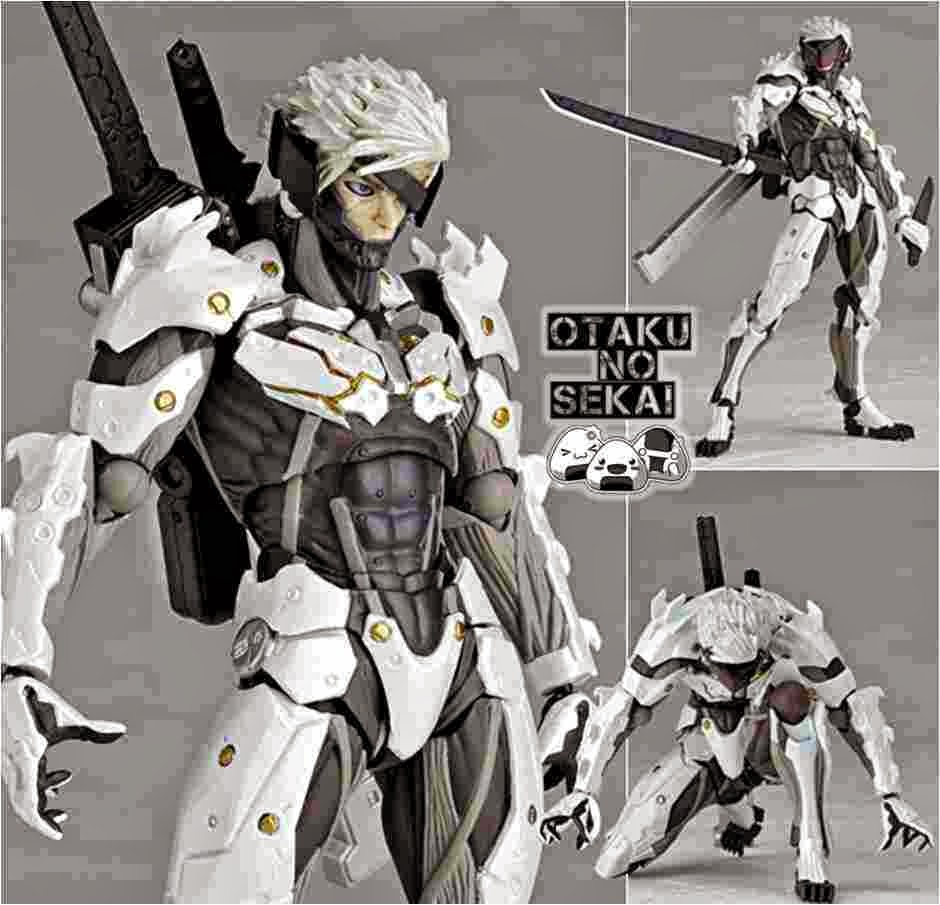 Revoltech Metal Gear Solid Raiden White Armor
