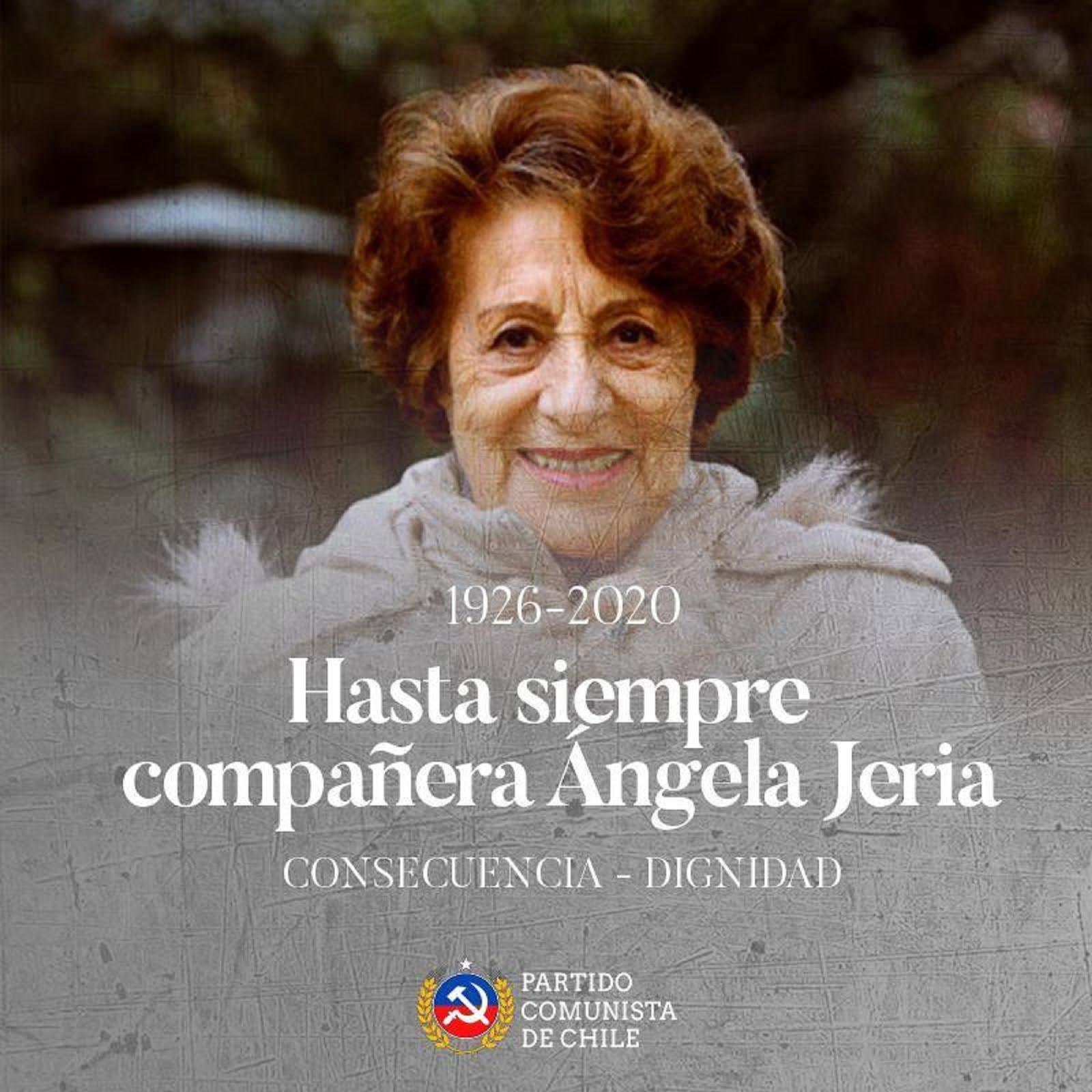 JUSQU'À TOUJOURS COMPAÑERA R.I.P.