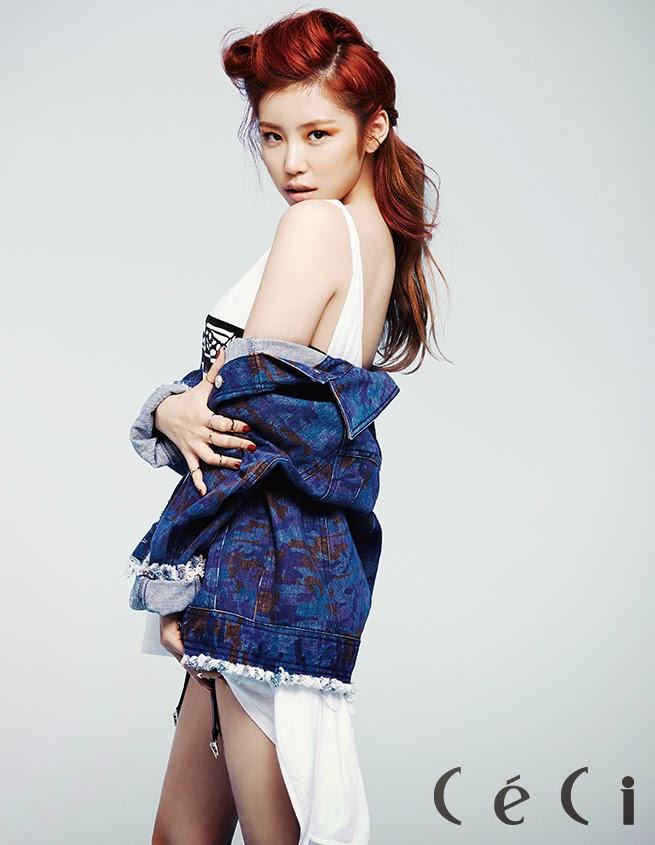 Hyosung and Sunhwa - CeCi June 2014