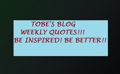 Tobe's Blog