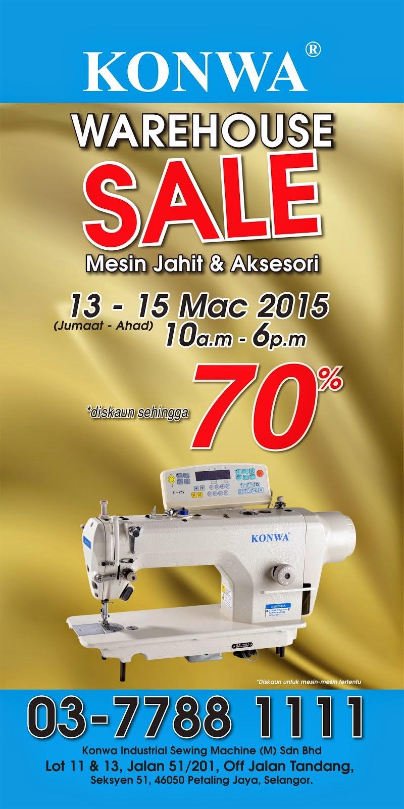 Konwa Warehouse Sales