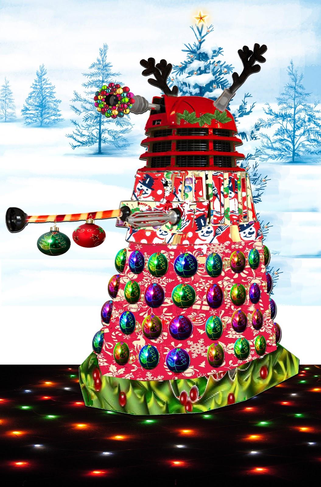 Found A Stick: The Christmas Dalek