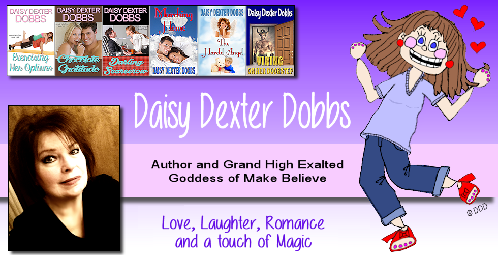 Author Daisy Dexter Dobbs - Love, Laughter, Romance, and a Touch of Magic
