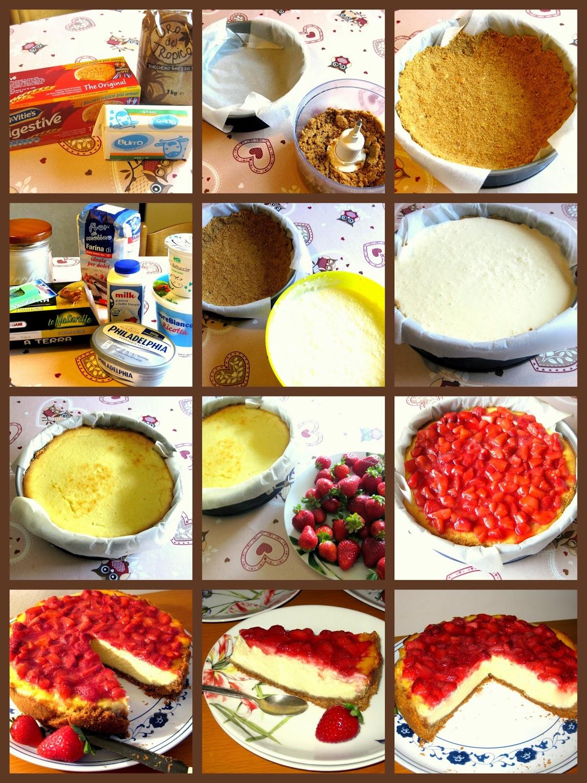 La ricetta della cheesecake con fragole e philadelphia è un must dell'estate. Rinfrescante e davvero golosa.