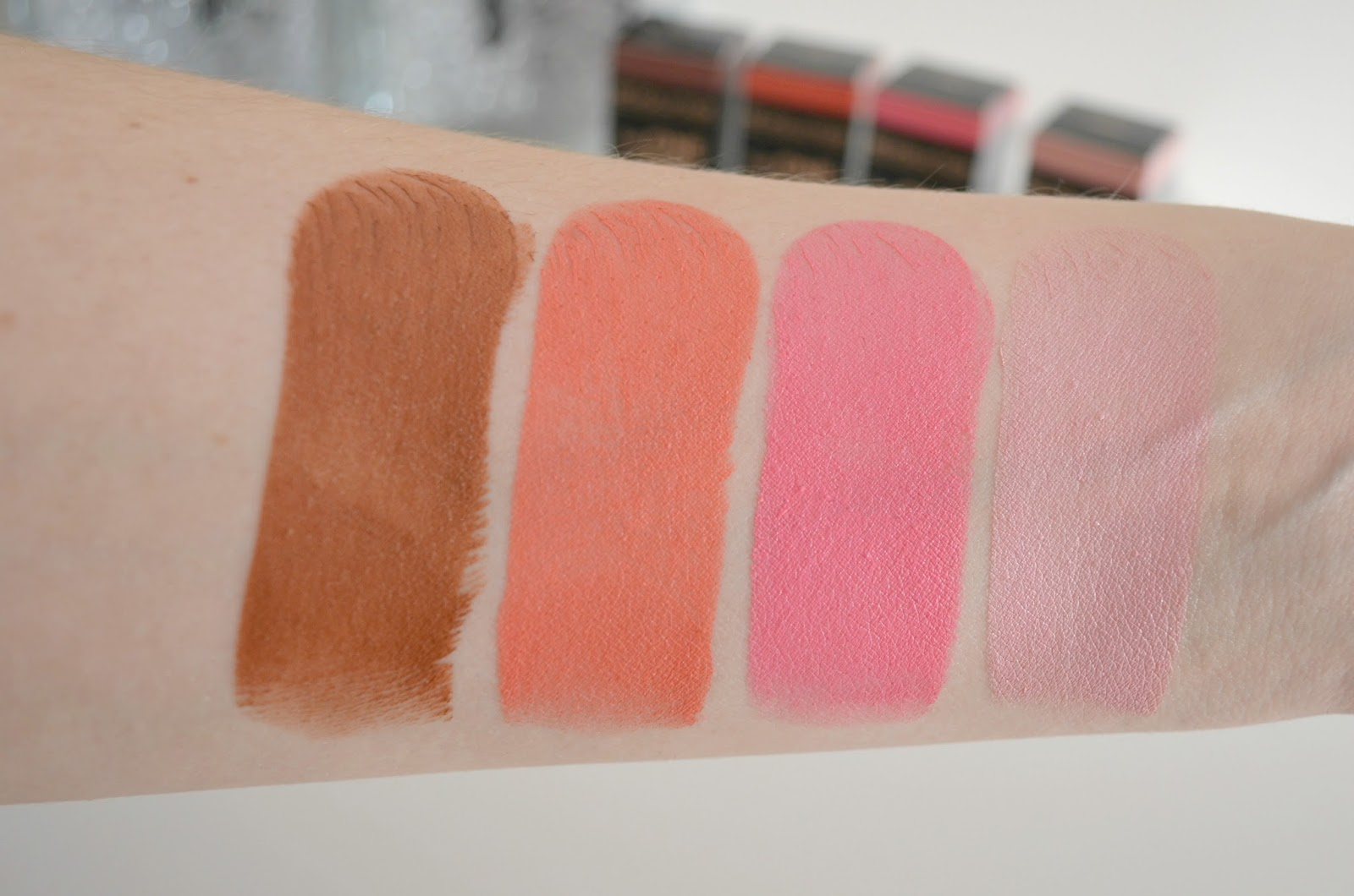Makeup Revolution The One blush sticks review matte formula swatches