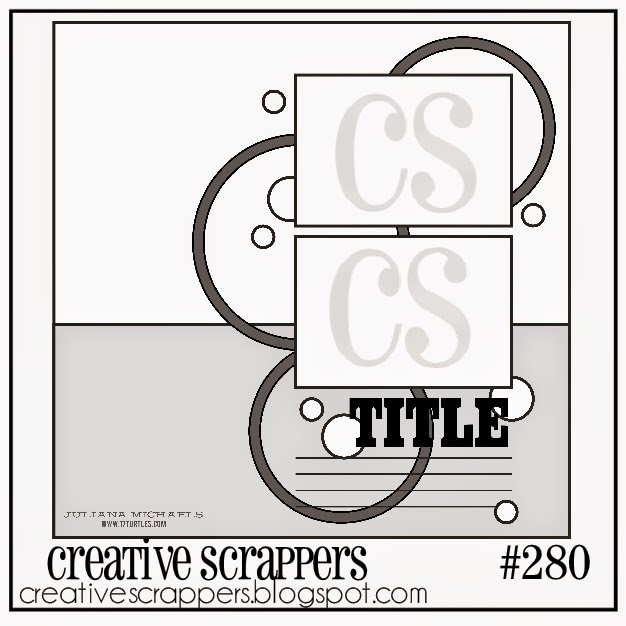 Creative Scrappers Sketch 280