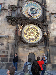 World famous Prag Orloj medieval  astronomical clock.