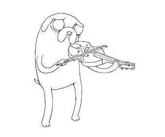 #8 Jake Coloring Page