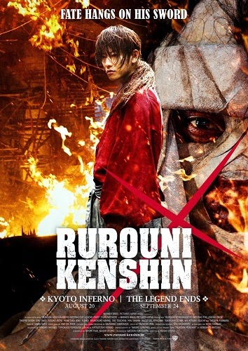 Film Rurouni Kenshin: The Legend Ends 2014 Bioskop