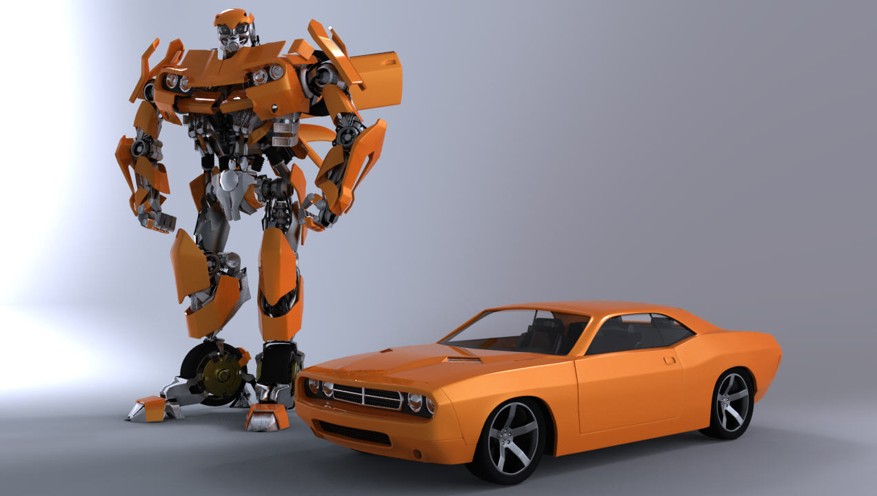 Bumble bee in transformer is dodge autos post