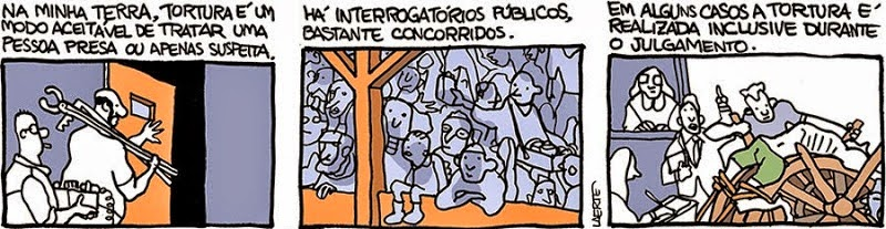 Laerte: Torture & Judgement.