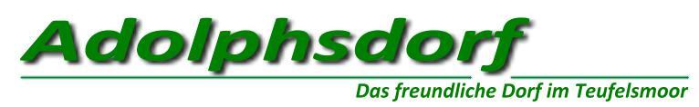 Adolphsdorf - Das freundliche Dorf im Teufelsmoor