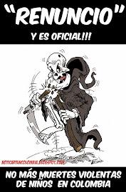 CAMPAÑA DE CARICATURAS PARA EXIGIR RESPETO POR LA VIDA DE LOS NIÑOS Y EN GENERAL EN COLOMBIA