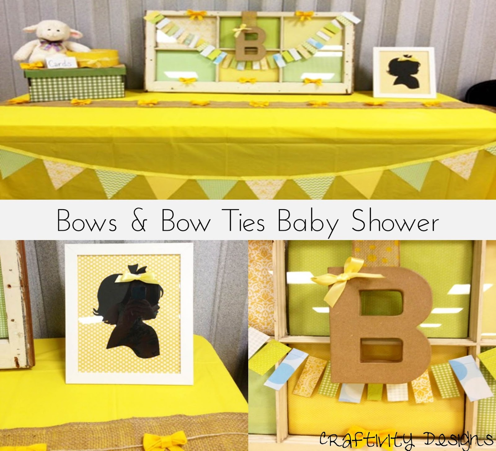 bows bow ties shower the decorations craftivity designs