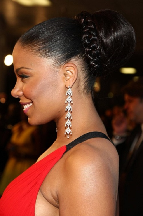 HD wallpapers bun hairstyles african american hair