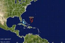 Tormenta tropical Sean puede transformarse hoy en huracán en el Atlántico